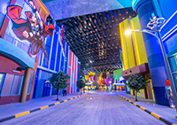 IMG Worlds of Adventure: the world's largest indoor amusement park (Dubai, UAE)