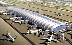 The biggest Airport in Dubai