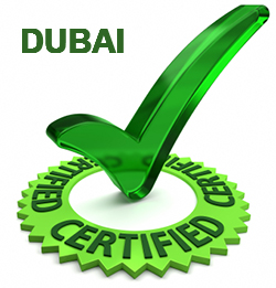 Products, materials and machinery / equipment certification in Dubai, UAE