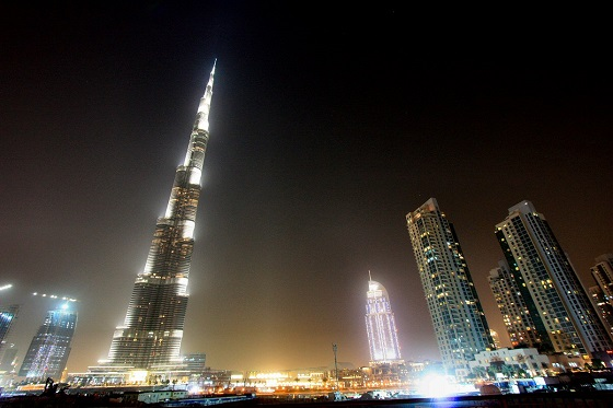 Burj Khalifa - the tallest building in the world