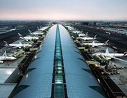 Dubai Air Harbor at the peak of its development