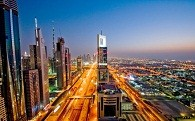 Dubai's biggest rise in economy for the past 5 years.