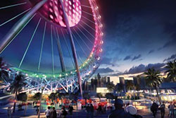 2nd place – Dubai Eye observation wheel