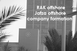 Offshore companies in UAE: Rak offshore incorporation, Jafza offshore company formation.