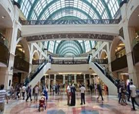 UAE shopping centers- Visitors Dynamic
